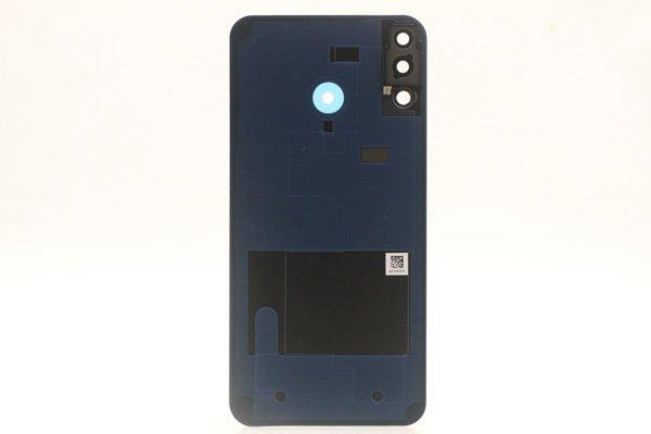 【ネコポス送料無料】Zenfone5 5Z(ZE620KL,ZS620KL共通)バックカバー ブラック [2]