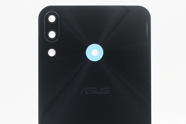 【ネコポス送料無料】Zenfone5 5Z(ZE620KL,ZS620KL共通)バックカバー ブラック [3]
