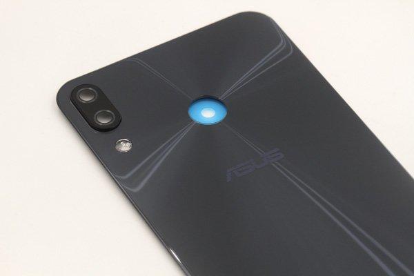 【ネコポス送料無料】Zenfone5 5Z(ZE620KL,ZS620KL共通)バックカバー ブラック [4]