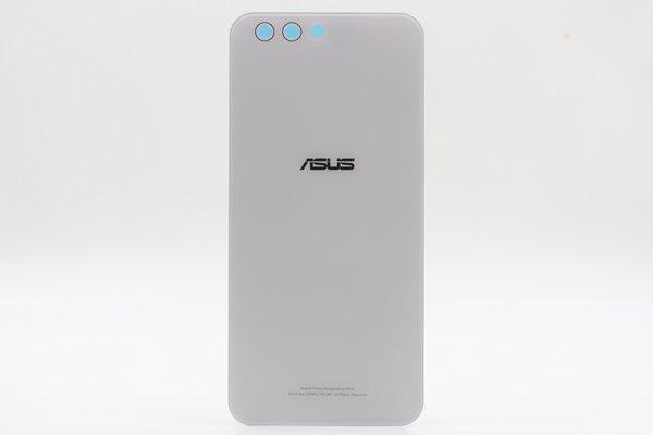 【ネコポス送料無料】Zenfone4(ZE554KL)バックカバー ホワイト [1]