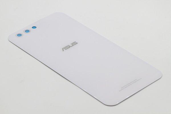 【ネコポス送料無料】Zenfone4(ZE554KL)バックカバー ホワイト [4]