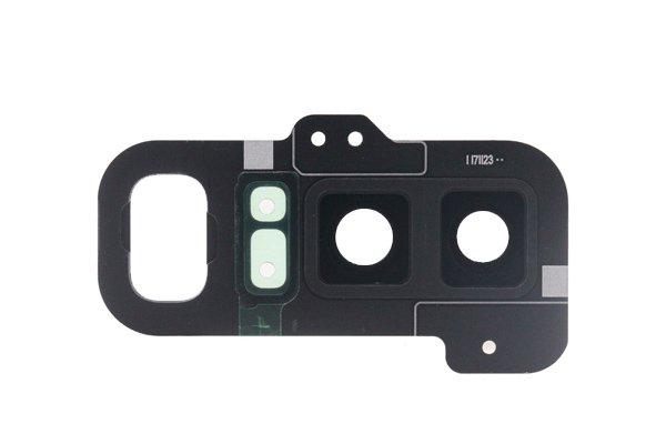 【ネコポス送料無料】Galaxy Note8(SM-N950 SC-01K SCV37)カメラレンズカバー ブラック [2]