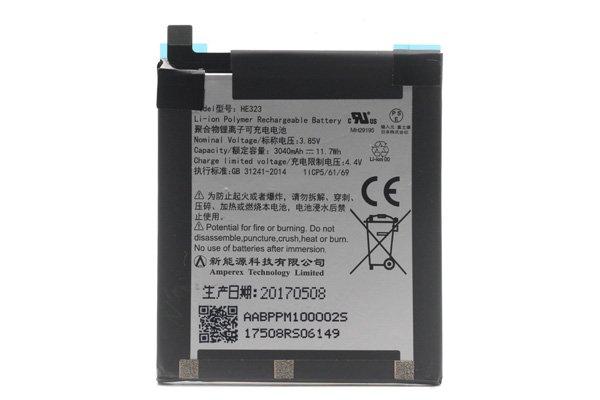 【ネコポス送料無料】Essential Phone PH-1 バッテリー HE323 3040mAh  [1]