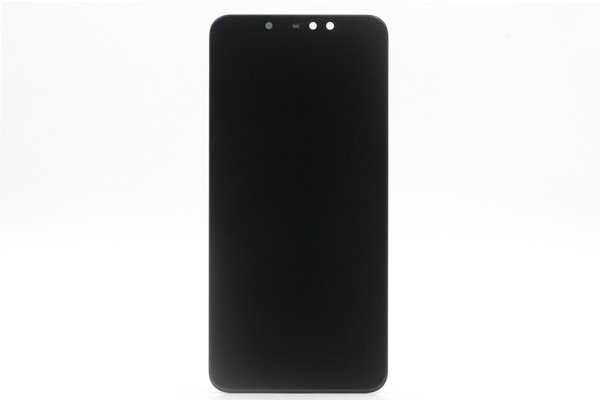 Redmi(紅米)Note6 Pro フロントパネルASSY ブラック 交換修理  [1]