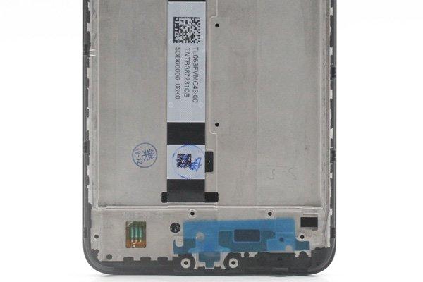 Redmi(紅米)Note6 Pro フロントパネルASSY ブラック 交換修理  [4]