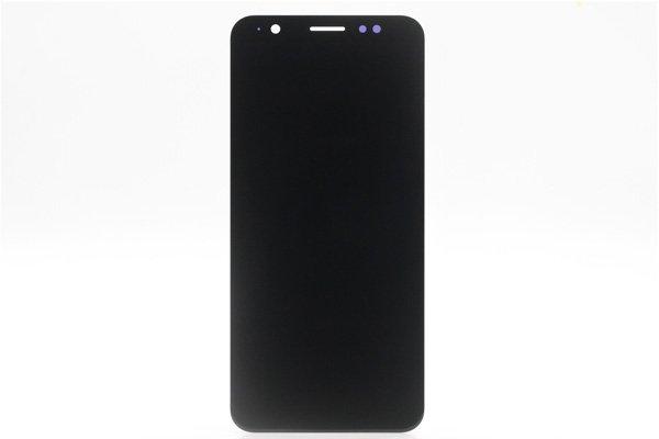 ZenFone Max (M1) (ZB555KL)フロントパネル 交換修理 ブラック [1]
