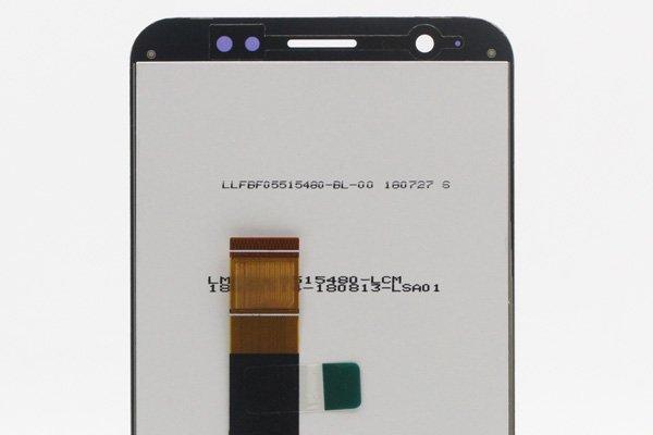 ZenFone Max (M1) (ZB555KL)フロントパネル 交換修理 ブラック [3]