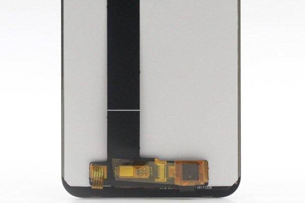 ZenFone Max (M1) (ZB555KL)フロントパネル 交換修理 ブラック [4]
