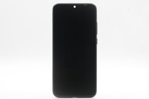 Redmi(紅米)Note7 フロントパネルASSY ブラック 交換修理 [1]