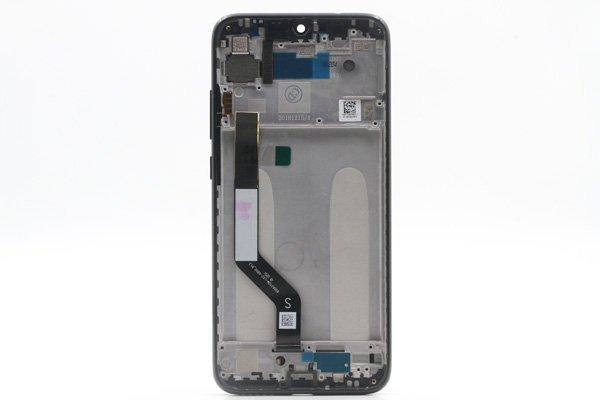 Redmi(紅米)Note7 フロントパネルASSY ブラック 交換修理 [2]