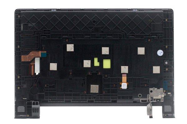 Lenovo YOGA Tab3 8(850F 850L)フロントパネルASSY 交換修理 ブラック [2]