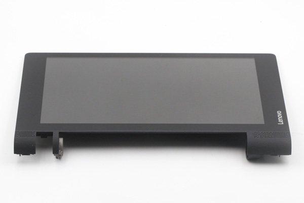 Lenovo YOGA Tab3 8(850F 850L)フロントパネルASSY 交換修理 ブラック [6]