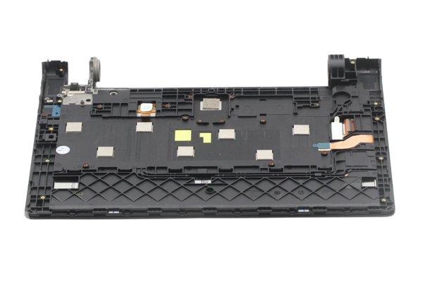 Lenovo YOGA Tab3 8(850F 850L)フロントパネルASSY 交換修理 ブラック [7]