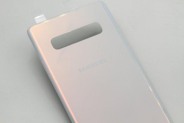 【ネコポス送料無料】Galaxy S10+(SM-G975)バックカバー 全2色 [7]
