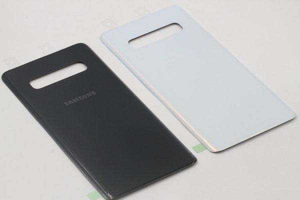 【ネコポス送料無料】Galaxy S10+(SM-G975)バックカバー 全2色 [9]
