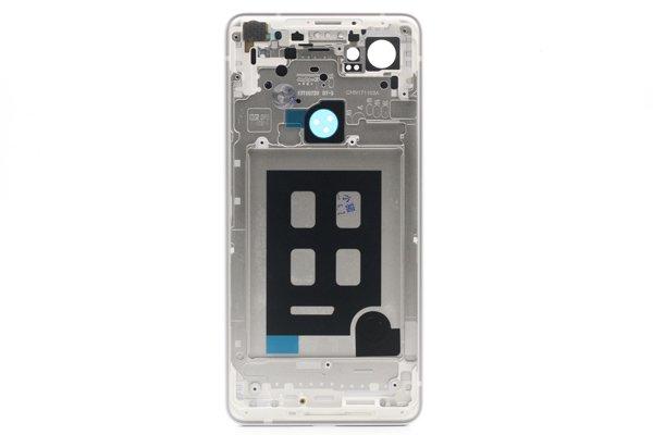 【ネコポス送料無料】Google Pixel2 XL バックカバー ホワイト x ブラック [2]
