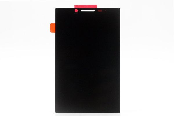 Blackberry KEY2 フロントパネル交換修理 ブラック [1]
