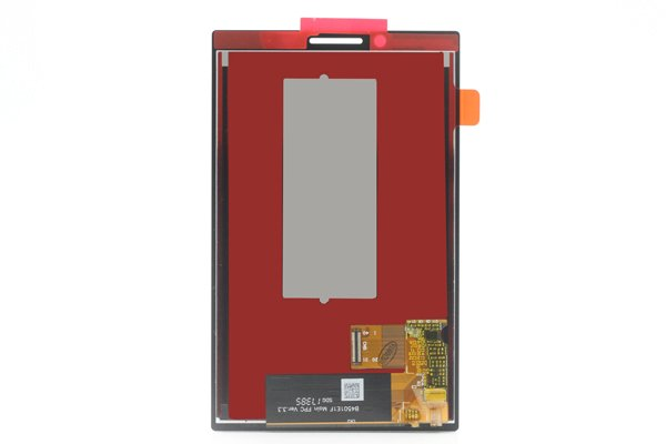 Blackberry KEY2 フロントパネル交換修理 ブラック [2]