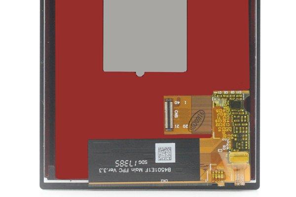 Blackberry KEY2 フロントパネル交換修理 ブラック [4]