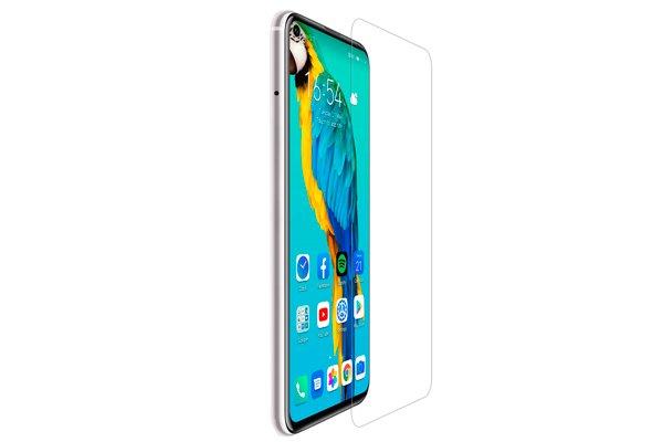 【ネコポス送料無料】Huawei Honor20 Pro 強化ガラスフィルム ナノコーティング 硬度9H [2]