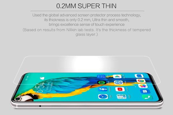【ネコポス送料無料】Huawei Honor20 Pro 強化ガラスフィルム ナノコーティング 硬度9H [7]