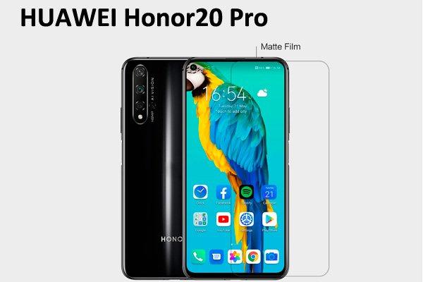 【ネコポス送料無料】Huawei Honor20 Pro 液晶保護フィルムセット アンチグレアタイプ [1]
