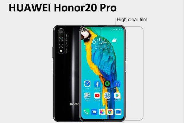 【ネコポス送料無料】Huawei Honor20 Pro 液晶保護フィルムセット クリスタルクリアタイプ [1]