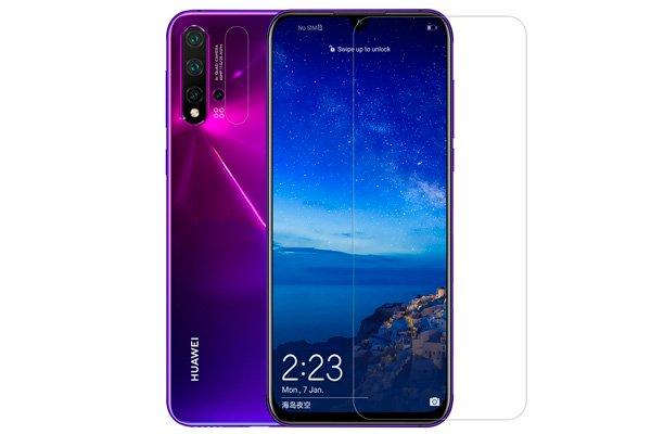 【ネコポス送料無料】Huawei Nova5 強化ガラスフィルム ナノコーティング 硬度9H [2]
