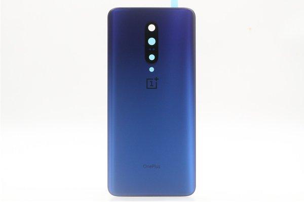 【ネコポス送料無料】Oneplus7 Pro バックカバー ブルー [1]