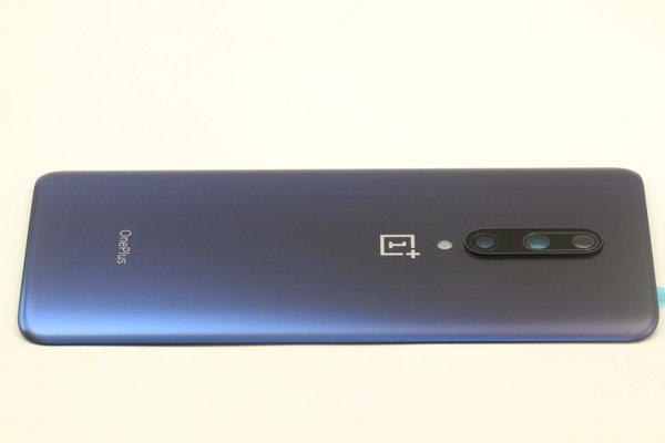 【ネコポス送料無料】Oneplus7 Pro バックカバー ブルー [6]