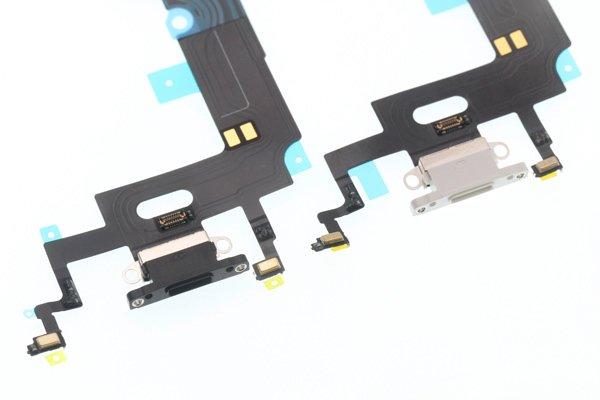 【ネコポス送料無料】iPhone XR ライトニングコネクター フレキシブルケーブル 全2色 [5]