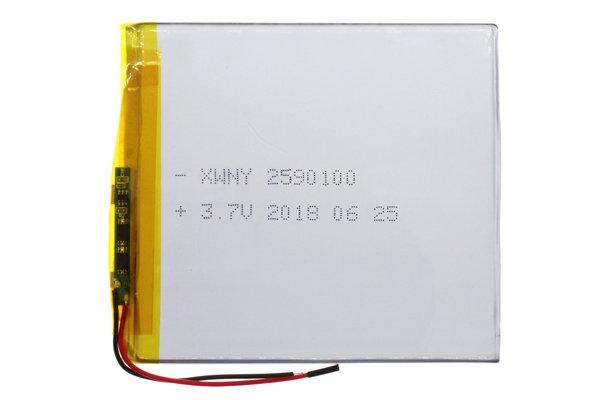 【ネコポス送料無料】中華タブレット用 リチウムポリマーバッテリー 3.7V 3000mAh 100 x 89 x 2.5mm [1]