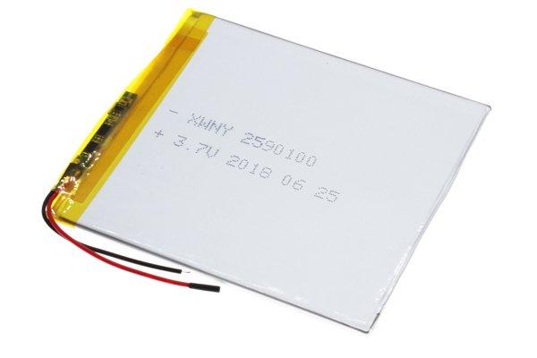 【ネコポス送料無料】中華タブレット用 リチウムポリマーバッテリー 3.7V 3000mAh 100 x 89 x 2.5mm [2]