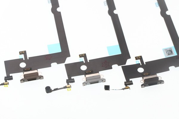 【ネコポス送料無料】iPhone XS MAX ライトニングコネクター フレキシブルケーブル [7]