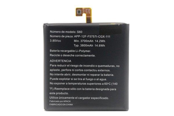 【ネコポス送料無料】CAT S60 バッテリー 3800mAh [2]
