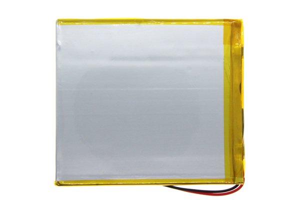 【ネコポス送料無料】中華タブレット用リチウムポリマーバッテリー 3.7V 3800mAh 90 x 80 x 3.7mm [2]