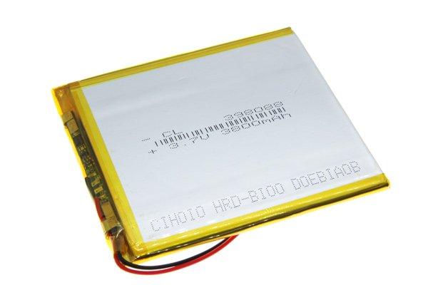 【ネコポス送料無料】中華タブレット用リチウムポリマーバッテリー 3.7V 3800mAh 90 x 80 x 3.7mm [3]