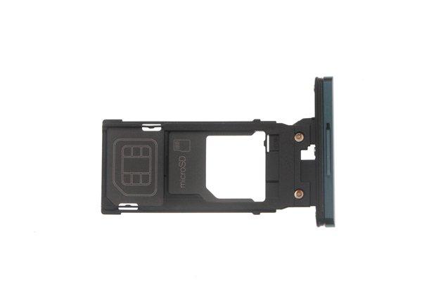 【ネコポス送料無料】Xperia XZ3(SO-01L SOV39)SIMカードトレイ シルバー [2]