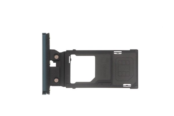 【ネコポス送料無料】Xperia XZ3(SO-01L SOV39)SIMカードトレイ シルバー [3]