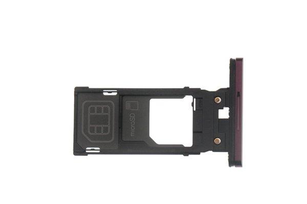 【ネコポス送料無料】Xperia XZ3(SO-01L SOV39)SIMカードトレイ 全4色 [6]