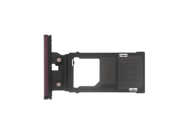 【ネコポス送料無料】Xperia XZ3(SO-01L SOV39)SIMカードトレイ 全4色 [7]