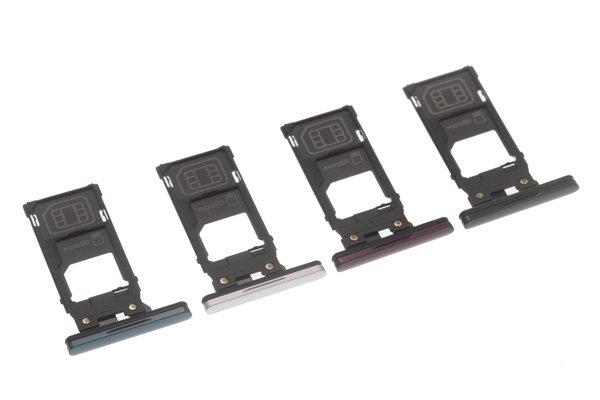 【ネコポス送料無料】Xperia XZ3(SO-01L SOV39)SIMカードトレイ 全4色 [10]