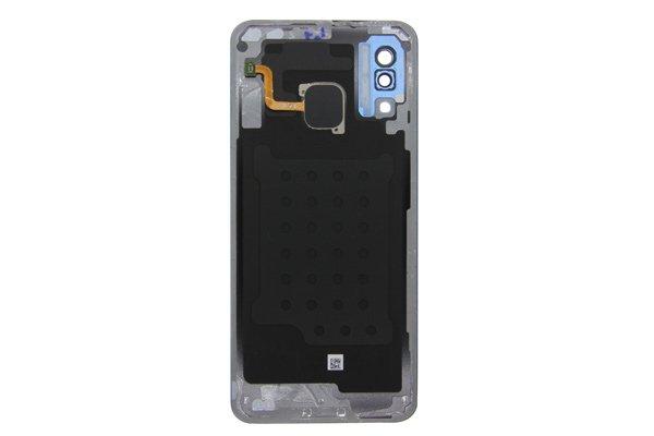 【ネコポス送料無料】Galaxy A30(SCV43)バックカバー ブルー [2]