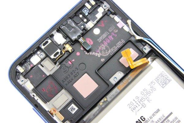 【ネコポス送料無料】Galaxy A30(SCV43)ミドルケース ブルー バッテリー付き [3]