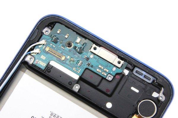 【ネコポス送料無料】Galaxy A30(SCV43)ミドルケース ブルー バッテリー付き [4]