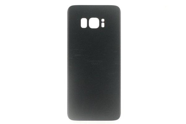 【ネコポス送料無料】Galaxy S8(SCV36)バックカバー ブラック [2]