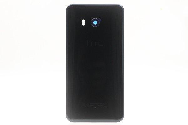 【ネコポス送料無料】HTC U11 バックカバー ブラック [1]