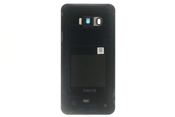 【ネコポス送料無料】HTC U11 バックカバー ブラック [2]