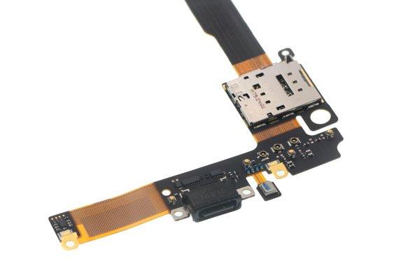 NOKIA8 Sirocco(TA-1005)USB TYPE-Cコネクター&SIMスロット フレックスケーブル交換修理 [3]