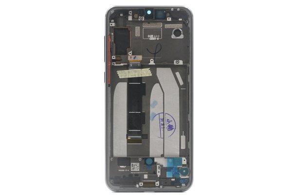Xiaomi(小米)Mi9SE フロントパネルASSY ブラック 交換修理 [2]
